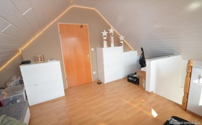 ausgebaute Dachboden