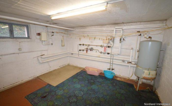 Hauswirtschaftsraum im Keller