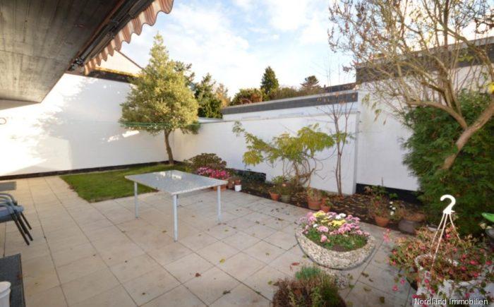 Terrasse mit Südausrichtung