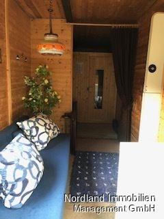 Wohnwagen mit Sauna