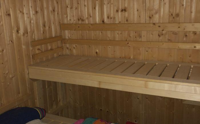 Sauna im Wohnwagen