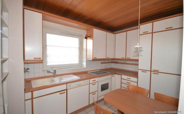 geräumige Küche inklusive Essplatz