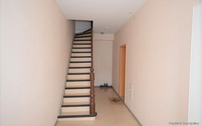 Treppenhaus im Eingangsbereich