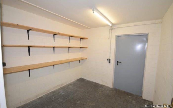 Abstellraum in der Garage