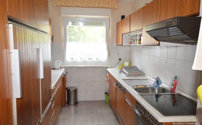 Separate Küche mit Einbauküche