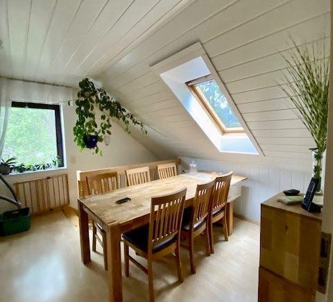 Esszimmer im Dachgeschoss