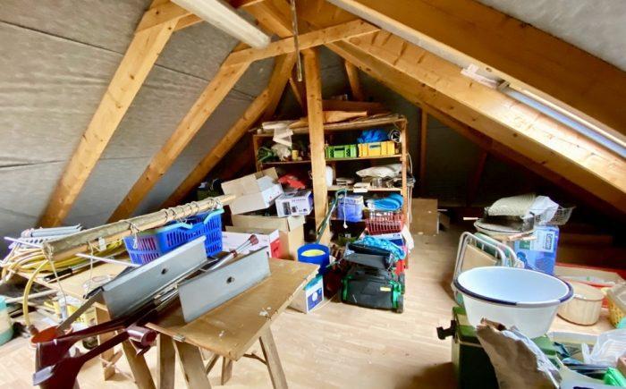 Werkstatt im Dachgeschoss