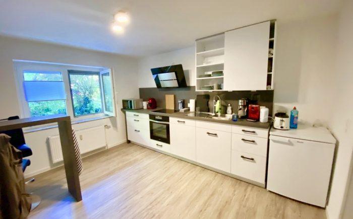Küche Souterrainwohnung